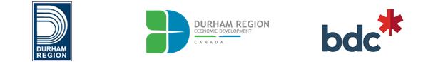 Durham Region and BDC logos