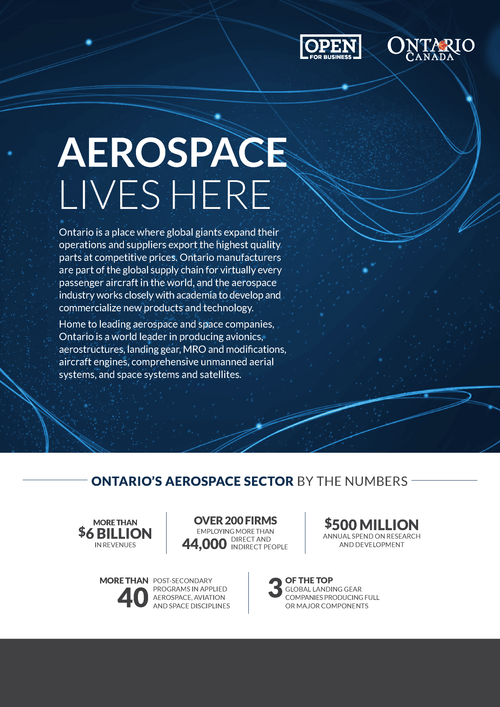 Aeropsace one-pager