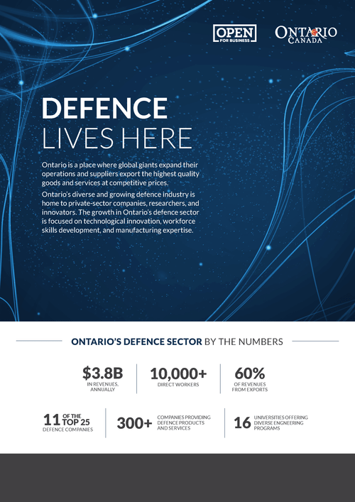 Defence one-pager