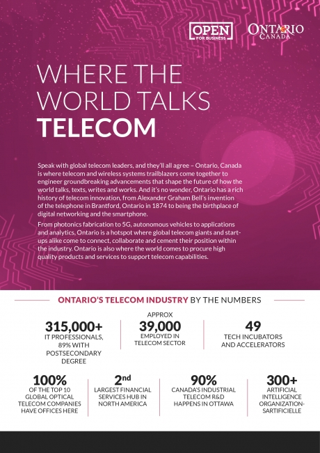 Telecom one-pager