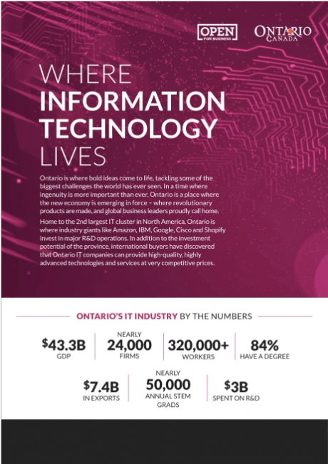Where information technology lives